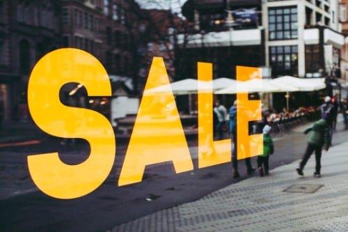 購物最佳時機:季度大減價